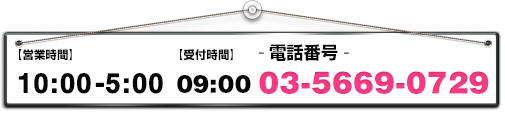 10:00-05:00 03-5669-0729